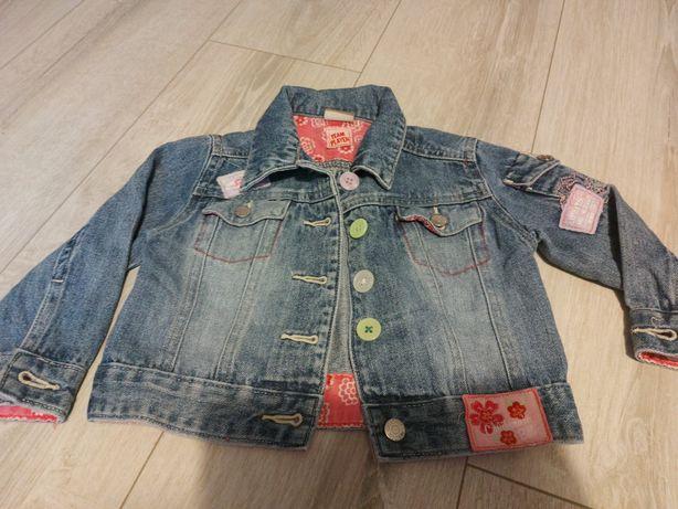 Kurtka jeans dziewczęca
