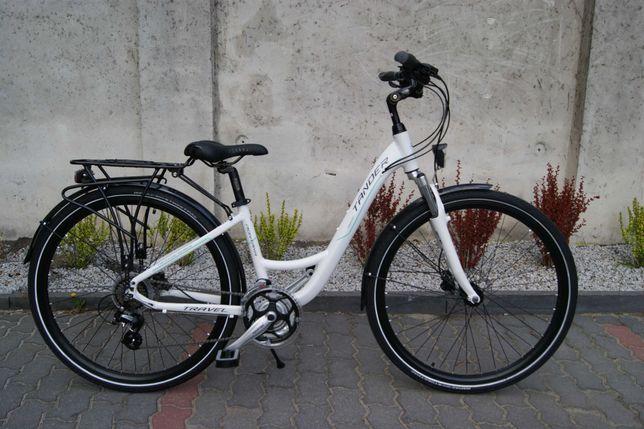 NOWY alu rower trekking TANDER 28'' koła hamulce tarczowe hydrauliczne