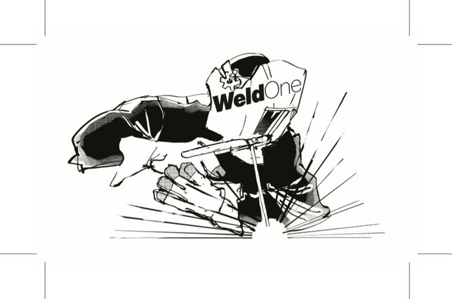 WeldOne - spawanie (stal nierdzewna, aluminium, czarna stal)