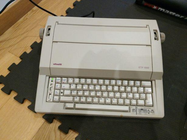 Máquina Escrever Olivetti 1000 - Peça Coleção