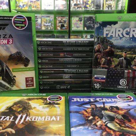 Xbox One Ігри БУ GTA 5 FIFA Mortal Kombat RDR UFC Mafia Forza Horizon