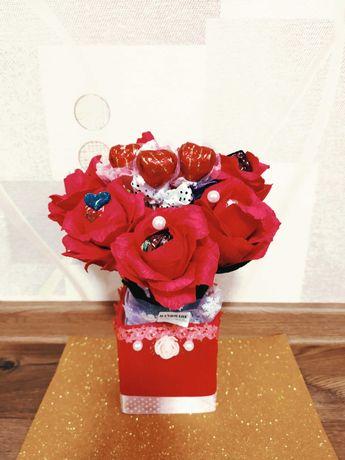 Солодкі букети до дня святого Валентина