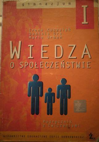 Podręcznik Wiedza o społeczeństwie do klasy1i2.I.Kuczałek,Daniela.Ura