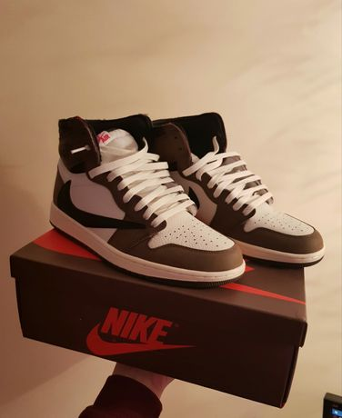 Новые Air Jordan 1 Travis Scott , Nike Cactus Jack aj1 Аир Джорданы