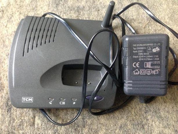 Zasilacz 9V + baza od telefonu bezprzewodowego TCM