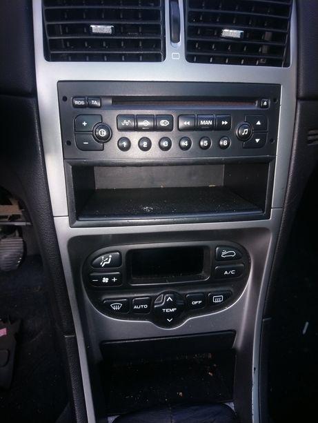 Radio panel klimy peugeot 307
