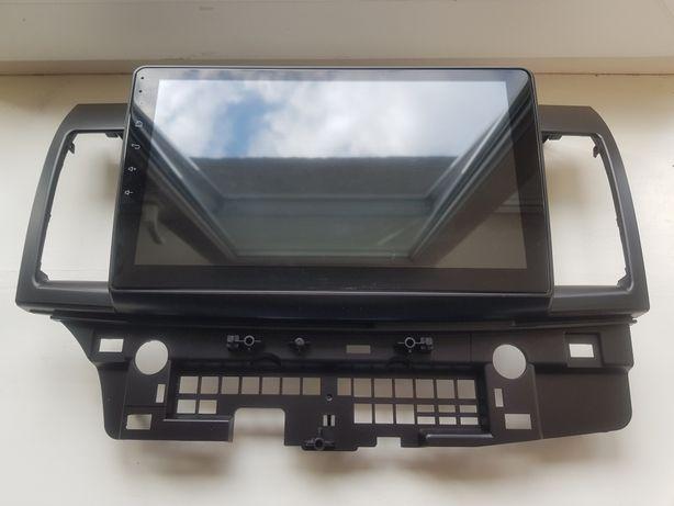 Mitsubishi Lancer 10 X НОВАЯ магнитофон дисплей лансер 10 магнітофон