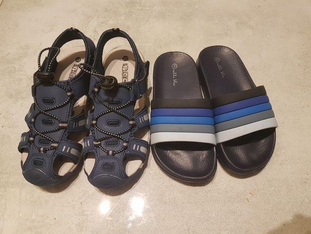 Sandalki klapki 20cm wkladka