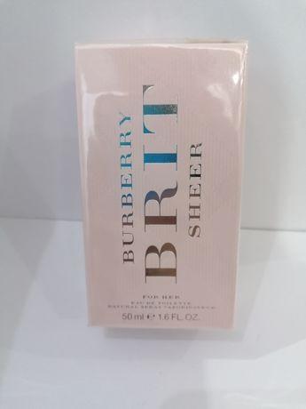 Burberry Brit Sheer Edt 50 ml. 100% NOWA! 100% ORYGINAŁ! FOLIA!