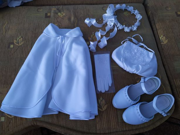 Dodatki do sukienki komunijnej