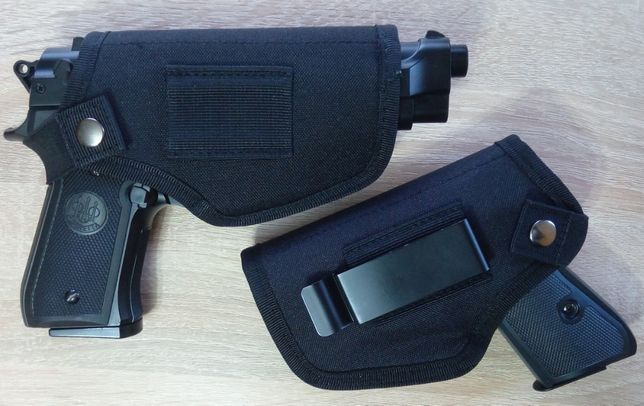 Универсальная поясная кобура для страйкбольного пистолета правая/левая