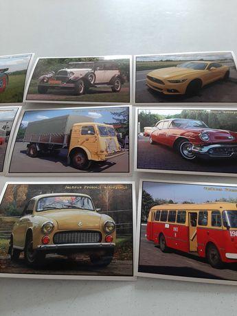 Widokówki motoryzacyjne kolekcjonerskie
