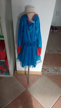 Strój wonder woman wonder girl super bohaterka. Marvel, 122 - 128 cm