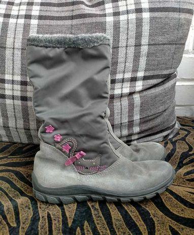 Демисезонные осенние ботинки сапожки для девочки 31 размер 20,5см