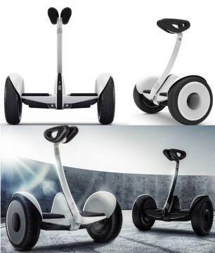 НАЙНБОТ Сигвей Ninebot Mini гироборды, гироскутеры, мини робот белый
