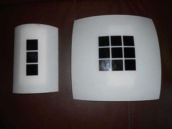 Lampa plafon+kinkiet