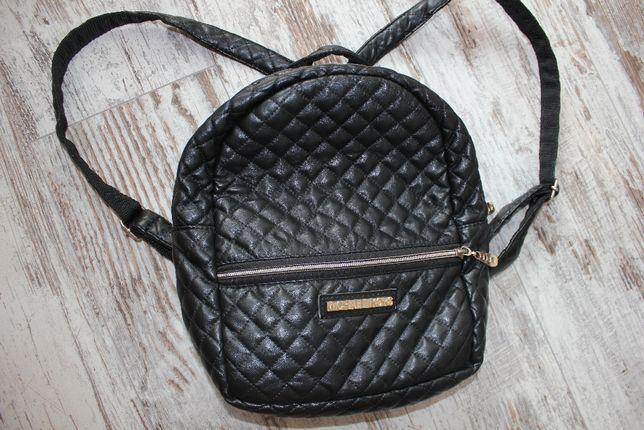 Рюкзак чёрный стеганый