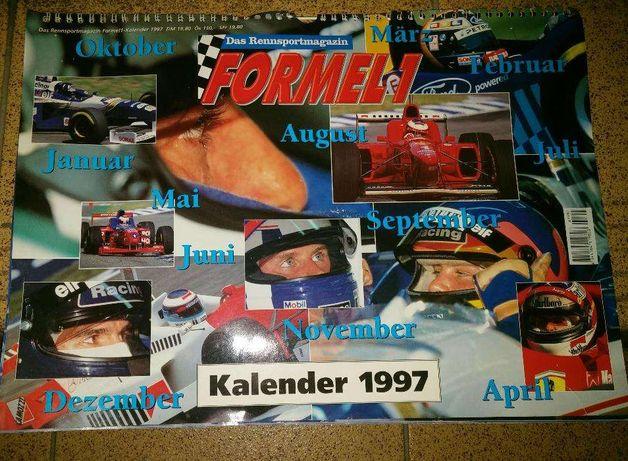 Dla fana F1 stan kolekcjonerski Formuła 1 1997r Unikat. 20markDE wys10