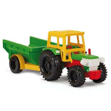 Wader traktor z wywrotką