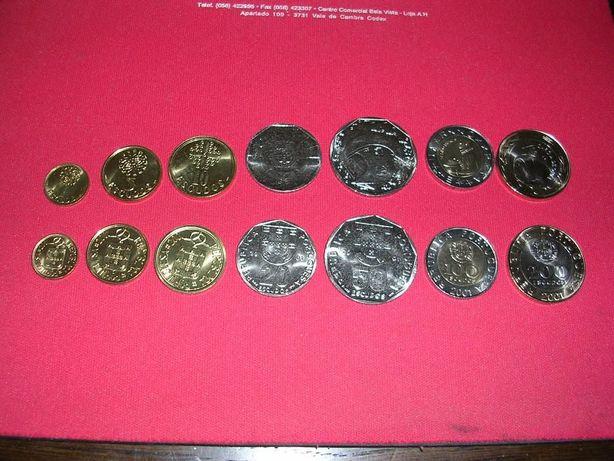 Colecção moedas Escudo 2001