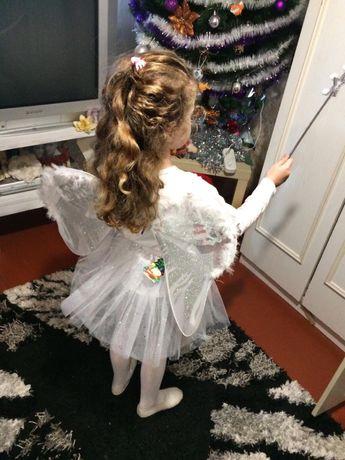 Костюм «Ангелочек» на девочку рост 92-110.Состояние хорошее