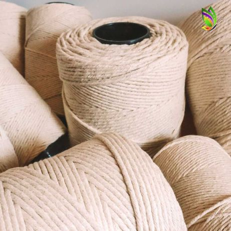 Fios de macramé 100% algodão e PORTES GRÁTIS
