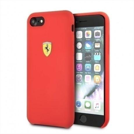 Etui Ferrari Hard case FESSIHCI8RE do iPhone 7/8/SE 2020 czerwony