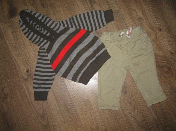 Комплект (штаны + кофта (кенгурушка) рр3-6мес (62-68см) 140грн