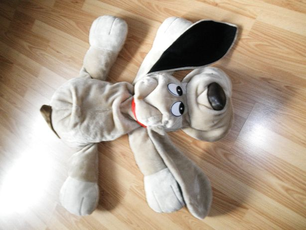duża przytulanka pies TOYWORLD,dł.90 cm