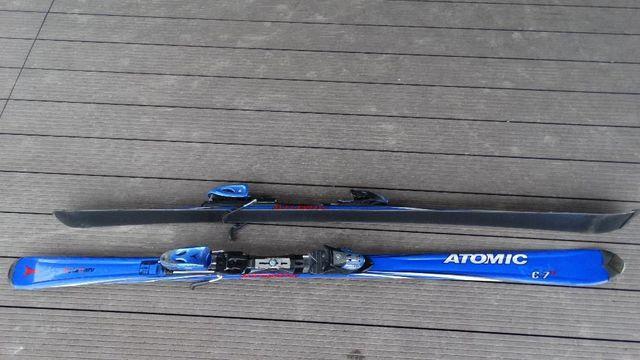 Narty ATOMIC C7 uzywane 170 cm