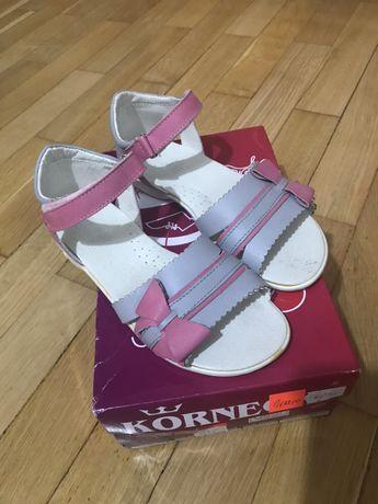 Sandały dziewczęce SKÓRA 34 NOWE