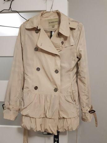 Beżowy płaszcz/trencz od Burberry London - jak nowy