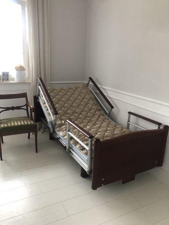Łózko rehabilitacyjne dla chorego pełna automatyka materace