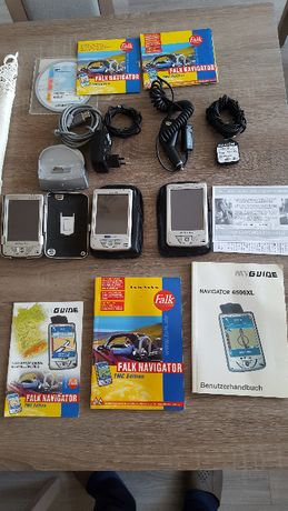 Palmtop MyGuide Navigator 6500 XL GPS oraz Bluemedia PDA 255