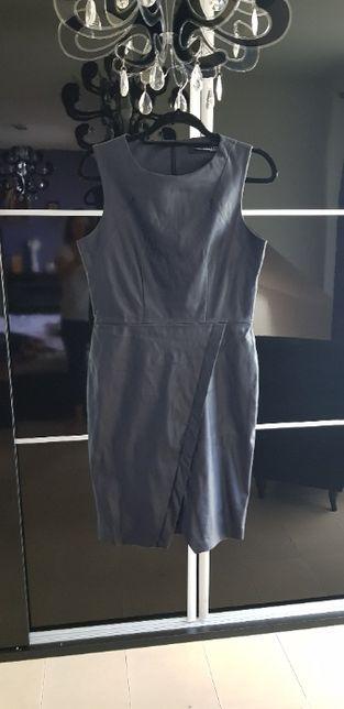 Sukienka eko skóra