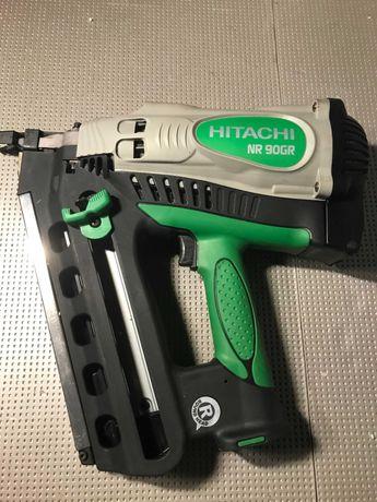 Hitachi NR90GR Аккумуляторный газовый гвоздезабиватель