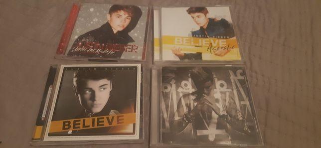 4 płyty Justina Biebera