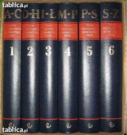 Encyklopedia 6 tomowa PWN, stan dobry,
