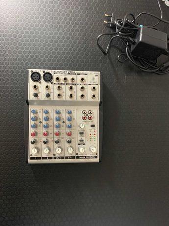 Behringer EURORACK UB802 - mikser audio