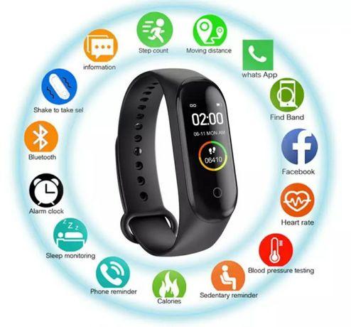 Smartwatch M5 z PL menu zegarek sportowy