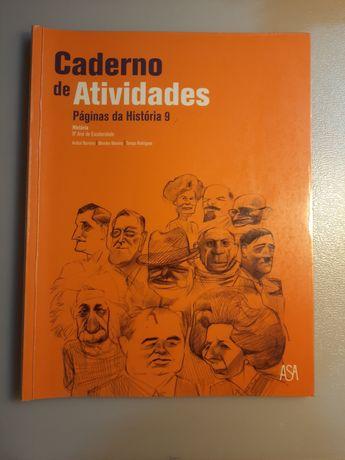 Caderno de atividades de História