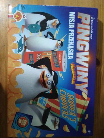 Gra Pingwiny z Madagaskaru Misja Przekąska