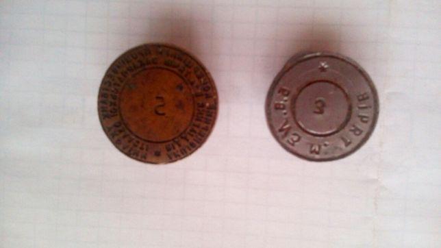 Продам старие банковские печатки