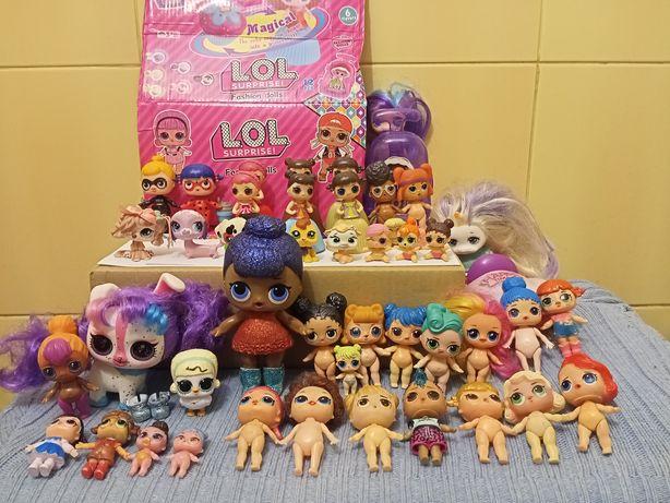 Куклы лол OMG машинка  лол-кексы панки единорожка антибаг леди баг