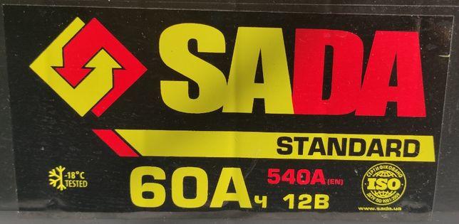 Аккумулятор автомобильный Sada 60A/ч