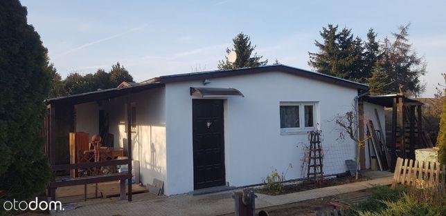 Domek murowany i ocieplony na działce 535m2