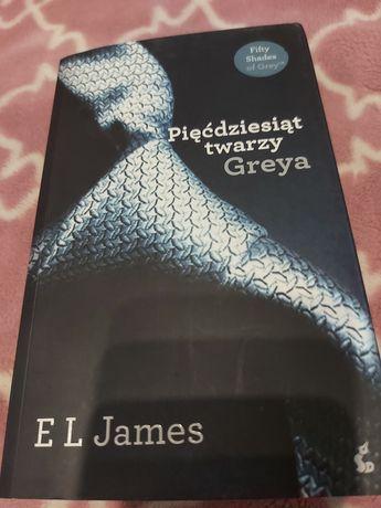 """EL James """"Pięćdziesiąt twarzy Greya"""""""