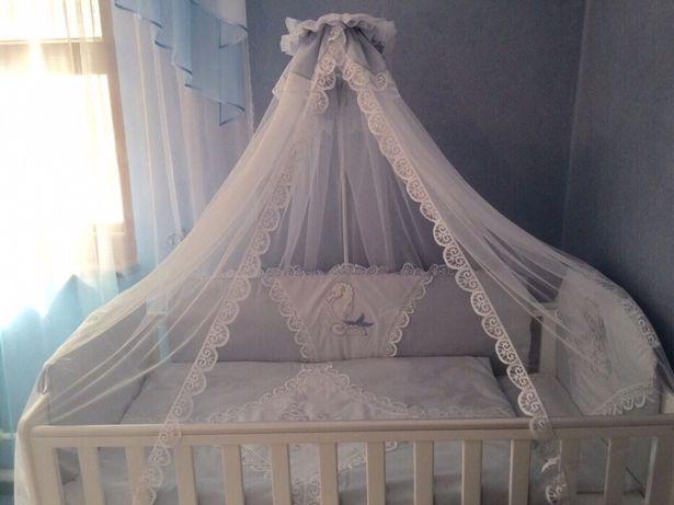 Балдахин на кроватку каркас + 2 комплекта балдахины защита на кровать
