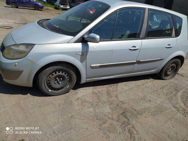 Renault scenic 2 prawy błotnik