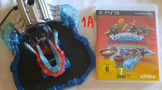 Jogos PS3 - Skylanders Superchargers procuram novas aventuras!